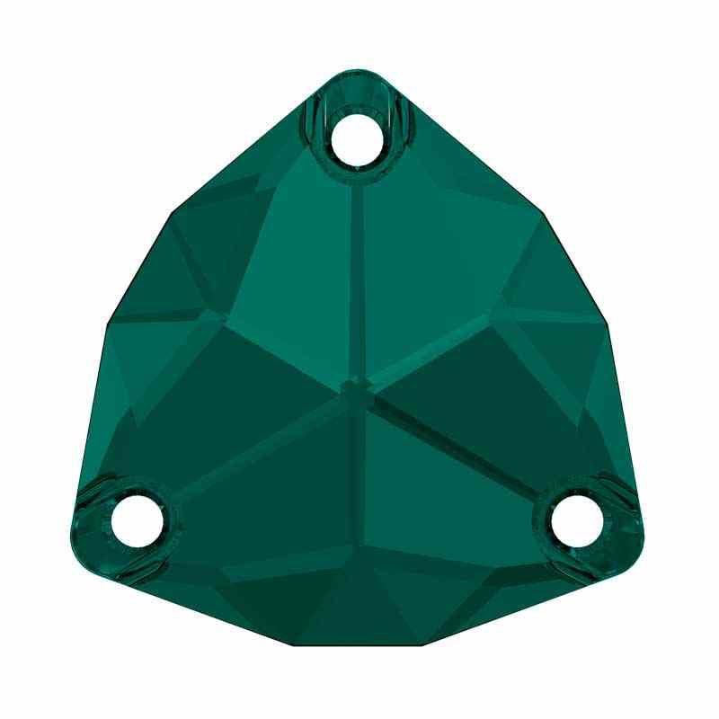 20MM Emerald F (205) 3272 Trilliant SWAROVSKI Crystal