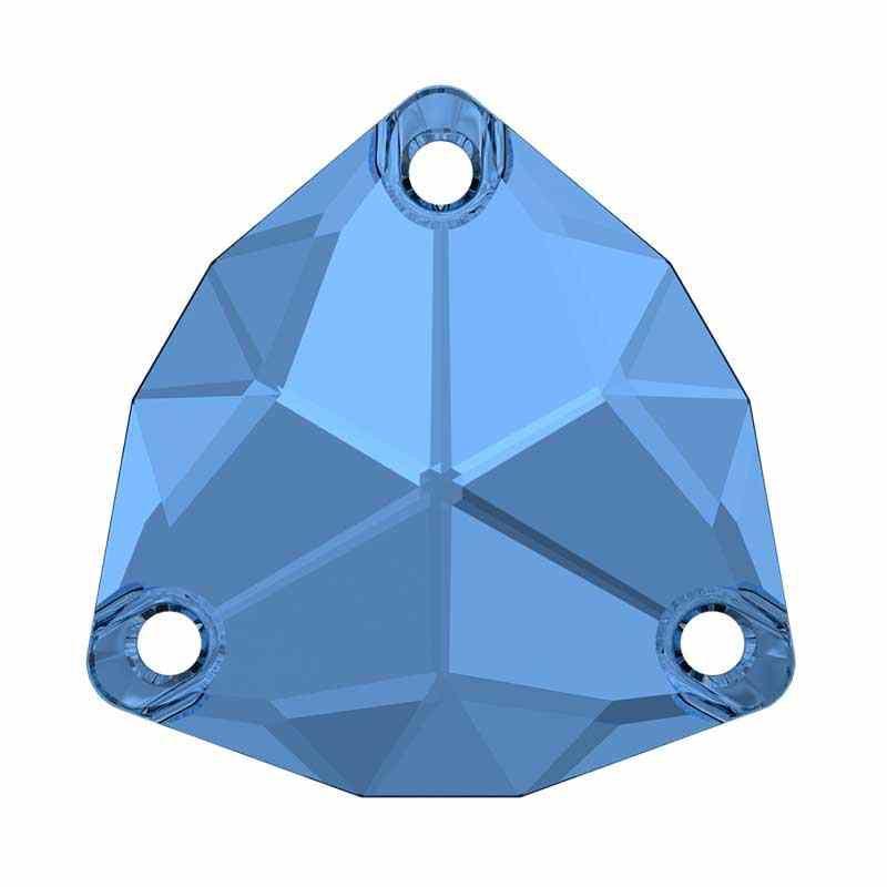 20MM Sapphire F (206) 3272 Trilliant SWAROVSKI Crystal