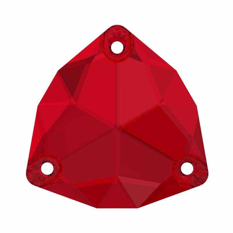 28MM Scarlet F (276) 3272 Trilliant SWAROVSKI Crystal