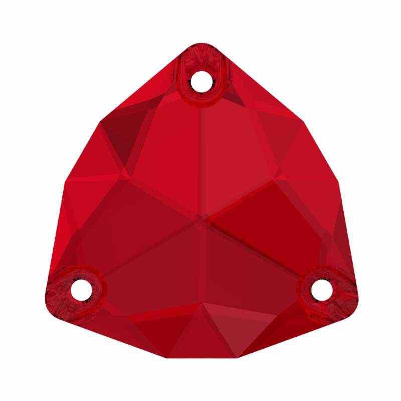 28MM Scarlet F (276) 3272 Trilliant SWAROVSKI Crystal
