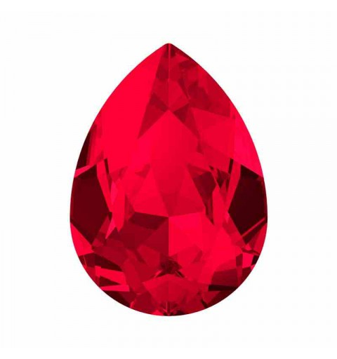 18x13mm Scarlet F (276) Pear-Shaped Fancy Stone 4320 Swarovski Crystal