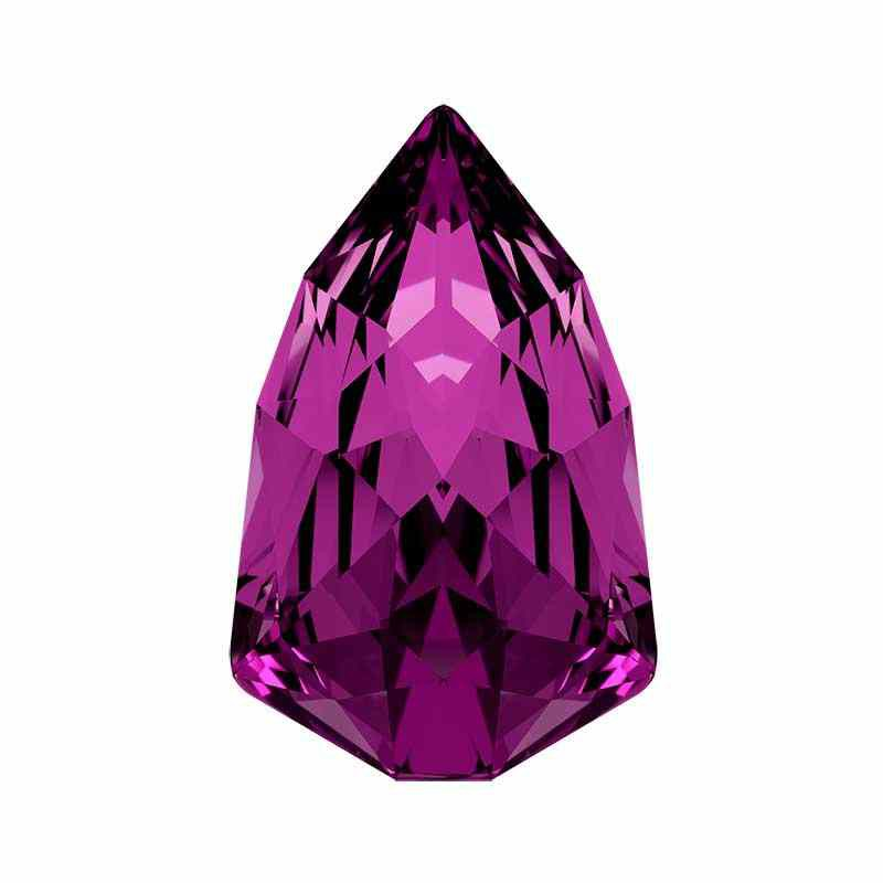 13.6x8.6mm Amethyst F (204) Slim Trilliant Fancy Stone 4707 Swarovski Crystal