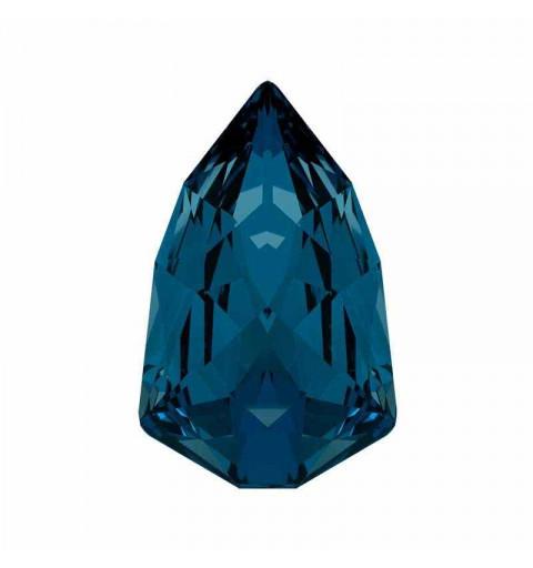 13.6x8.6mm Montana F (207) Slim Trilliant Fancy Stone 4707 Swarovski Crystal
