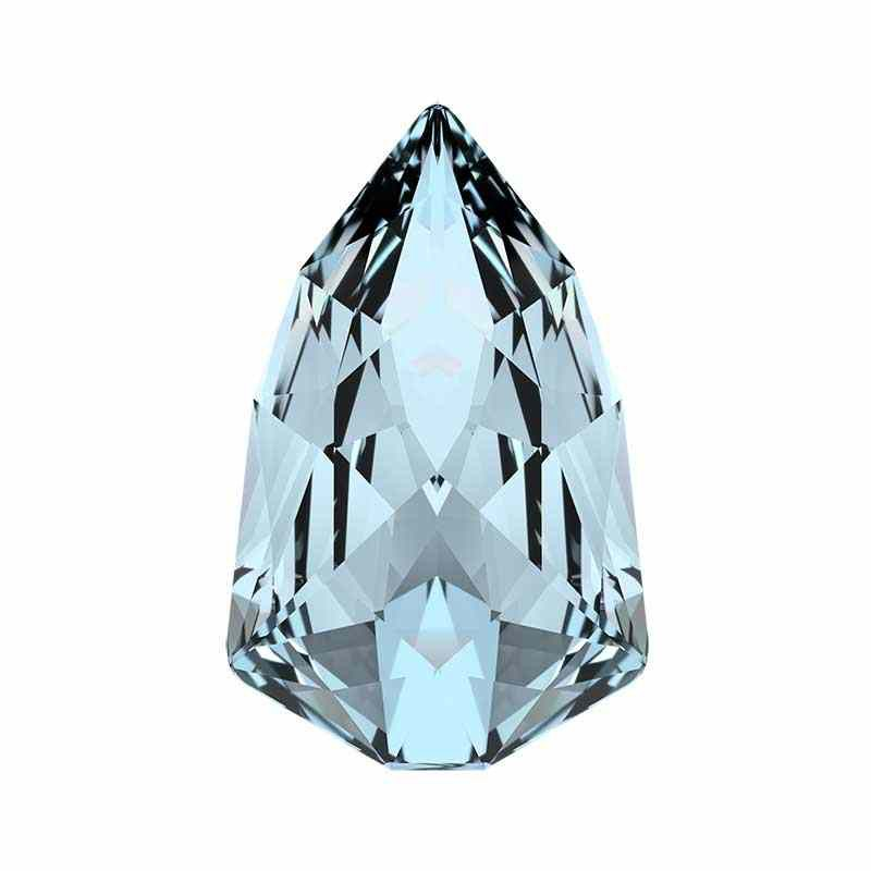 13.6x8.6mm Crystal Blue Shade F (001 BLSH) Slim Trilliant 4707 Swarovski