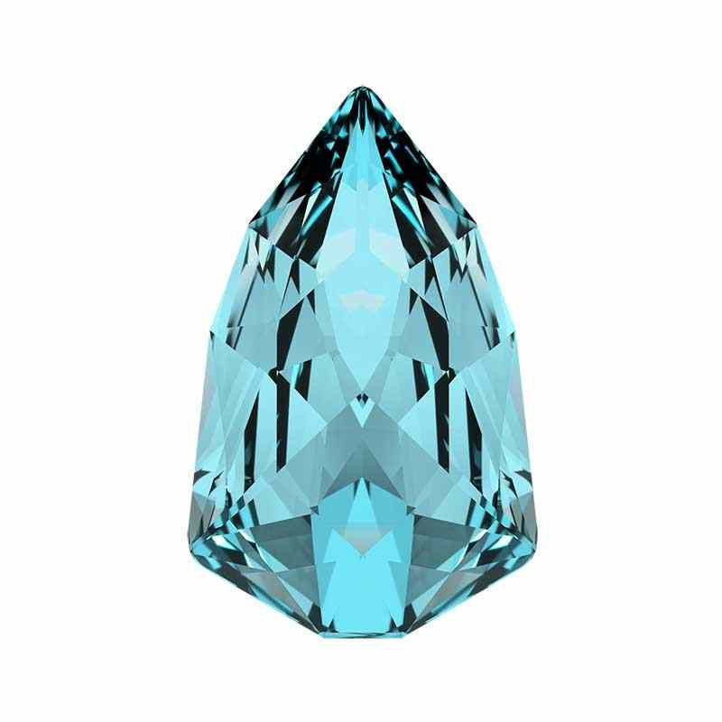 13.6x8.6mm Aquamarine F (202) Slim Trilliant Fancy Cristal 4707 de Swarovski