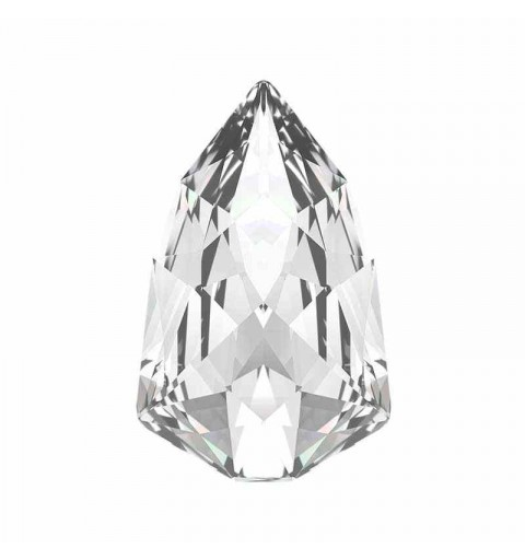 13.6x8.6mm Crystal F (001) Slim Trilliant Fancy Stone 4707 Swarovski Crystal