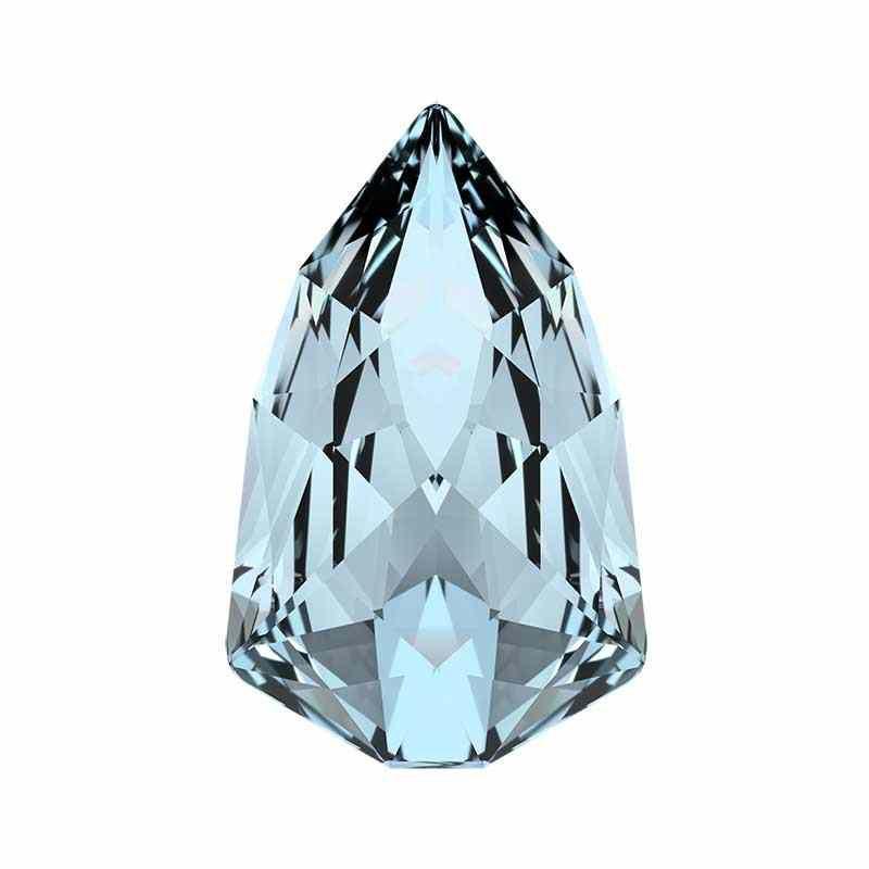 18.7x11.8mm Crystal Blue Shade F (001 BLSH) Slim Trilliant 4707 Swarovski