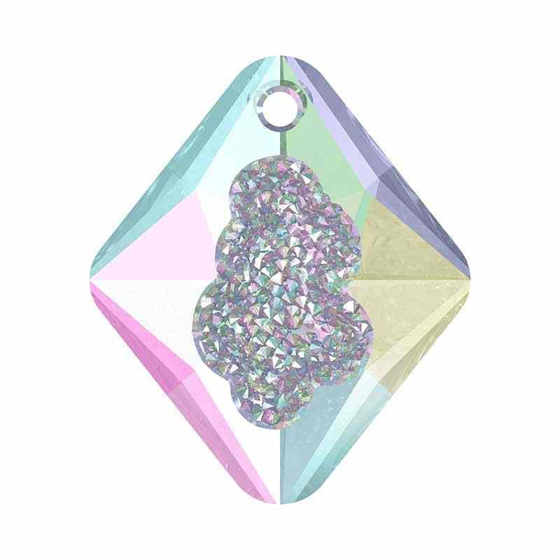 26MM Crystal AB (001 AB) Growing Cr. Rhombus Подвески 6926 SWAROVSKI