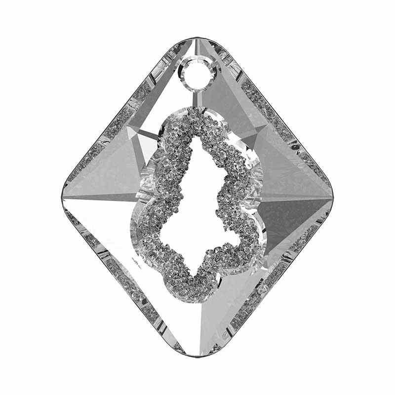 36MM Crystal (001) Growing Cr. Rhombus Pendentif 6926 SWAROVSKI