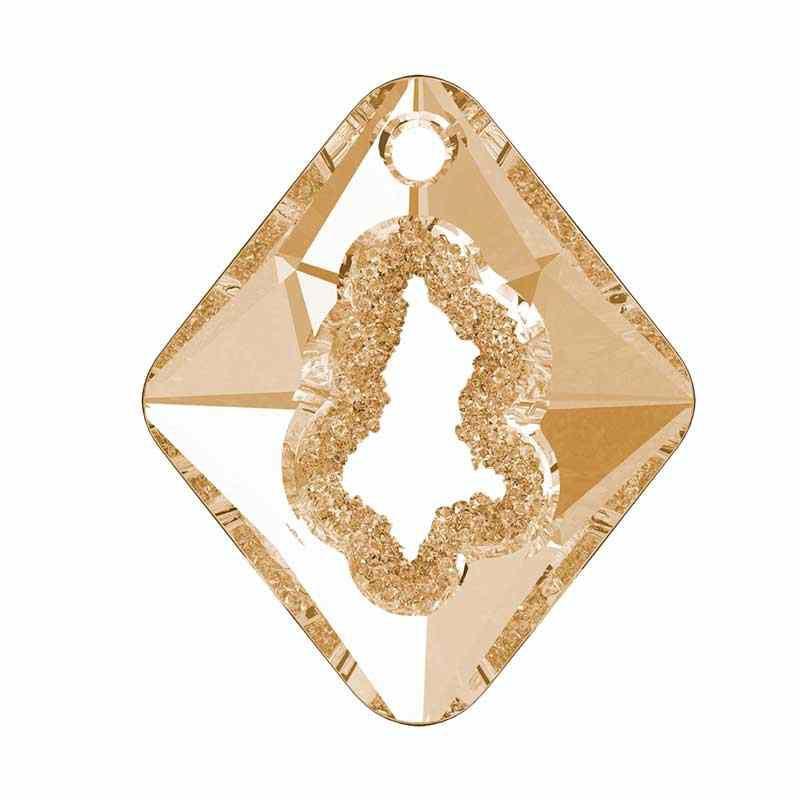 36MM Crystal Golden Shadow (001 GSHA) Growing Cr. Rhombus Подвески 6926 SWAROVSKI