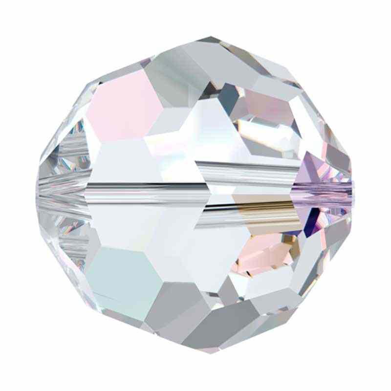 10MM Crystal AB (001 AB) 5000 Perle Ronde SWAROVSKI