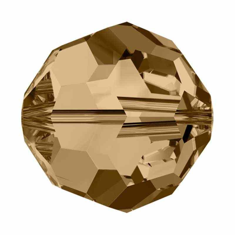 10MM Crystal Golden Shadow (001 GSHA) 5000 ümmargused helmed SWAROVSKI