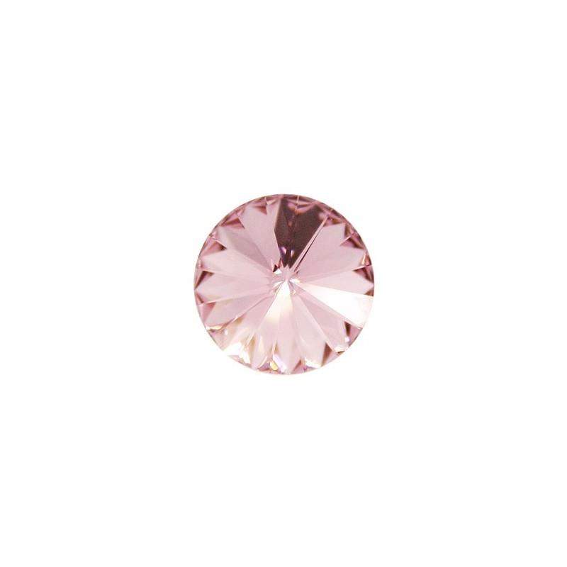 14MM Light Rose F (223) 1122 Rivoli Chaton SWAROVSKI ELEMENTS