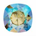12mm 4470 Black Diamond Shimmer F (215 SHIM) Cushion Square Fancy Stone Swarovski
