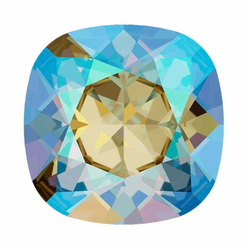 12mm 4470 Black Diamond Shimmer F (215 SHIM) Подушкообразный Квадратный Кристалл для украшений Swarovski