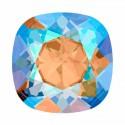 12mm 4470 Light Colorado Topaz Shimmer F (246 SHIM) Padjakujuline Ruudune Ehte Kristall Swarovski