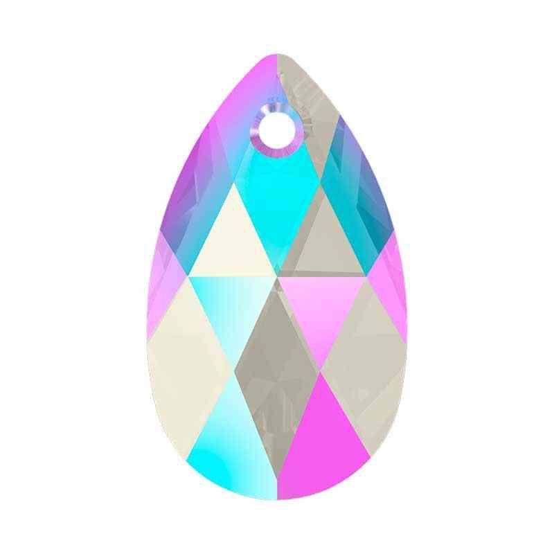 22MM Light Sapphire Shimmer (211 SHIM) 6106 грушевидные Подвески SWAROVSKI