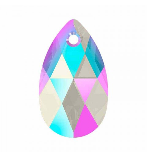 22MM Light Sapphire Shimmer (211 SHIM) 6106 Pear-shaped Pendants SWAROVSKI