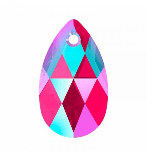 22MM Light Siam Shimmer (227 SHIM) 6106 Pear-shaped Pendants SWAROVSKI