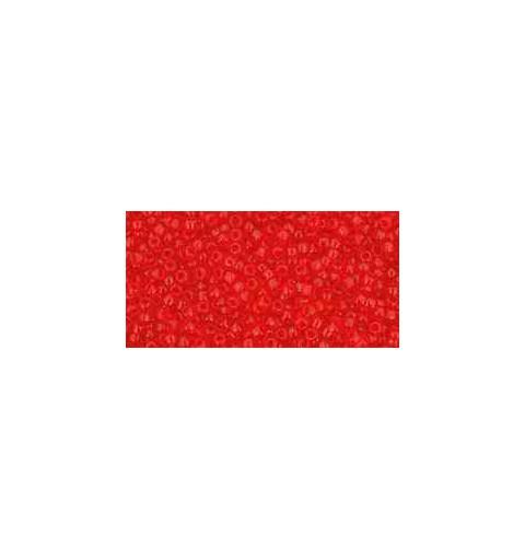 TR-15-5B Transparent Siam Ruby TOHO Seemnehelmed