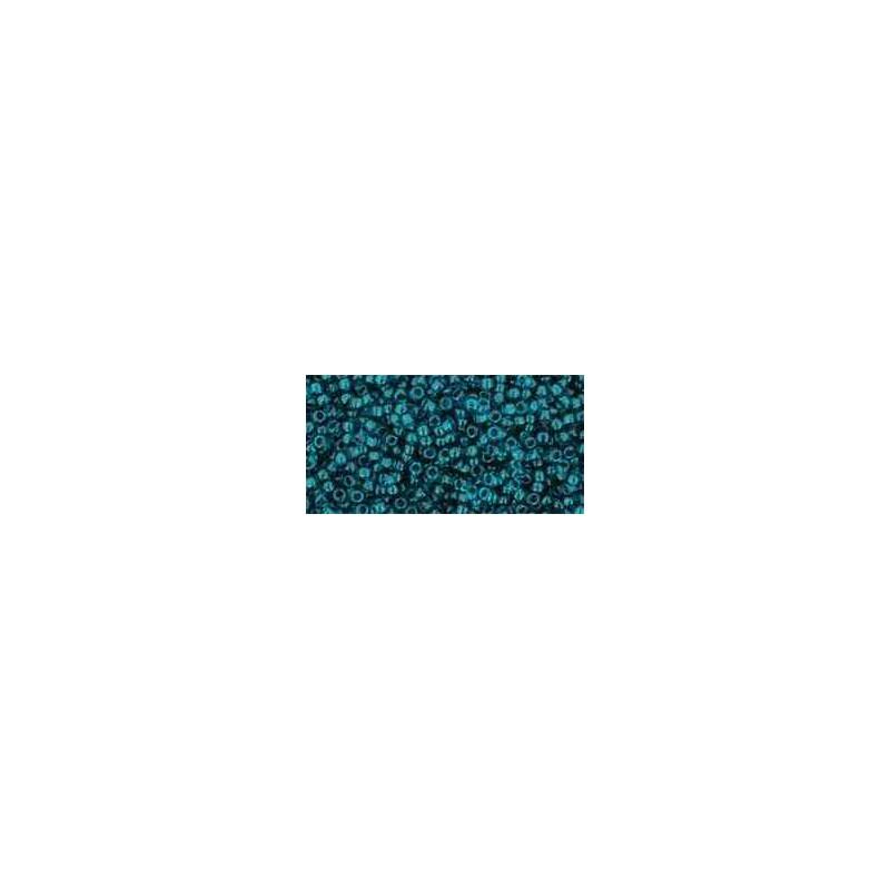 TR-15-7BD Transparent Capri Blue TOHO Seed Beads