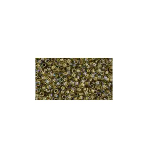 TR-15-998 Gold Lined Rainbow Light Jonquil TOHO Seed Beads