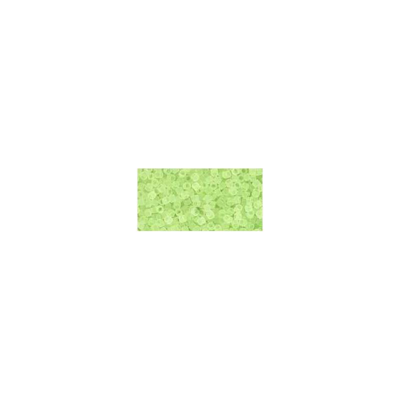 TT-01-15F Transparent-Frosted Citrus Spritz ТОХО Трэжерс Бисер