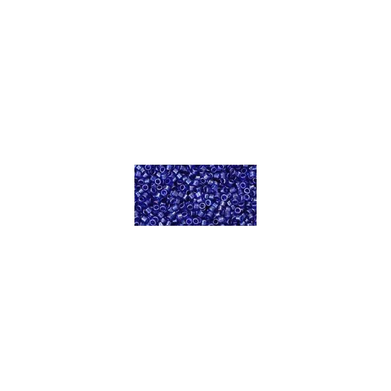 TT-01-116 Transparent-Lustered Cobalt TOHO Treasures Rocaille