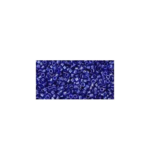 TT-01-116 Transparent-Lustered Cobalt TOHO Treasures Rocaille