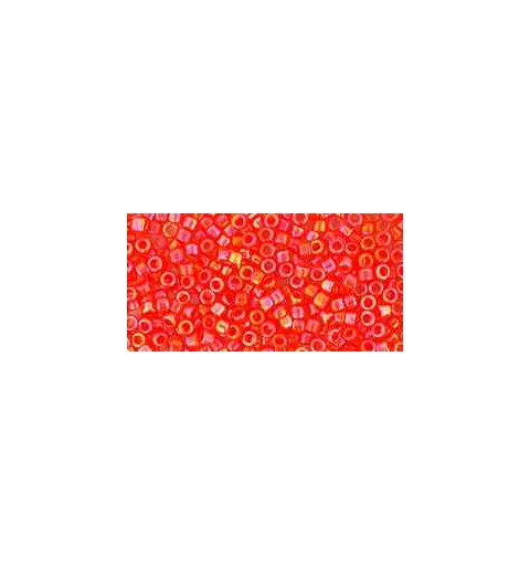TT-01-410 Opaque-Rainbow Pumpkin TOHO Treasures Seed Beads