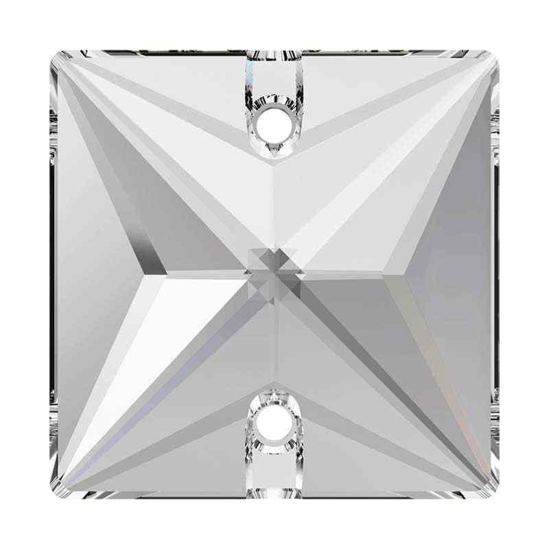 16MM Crystal F (001) 3240 Квадрат Sew-on Stone SWAROVSKI