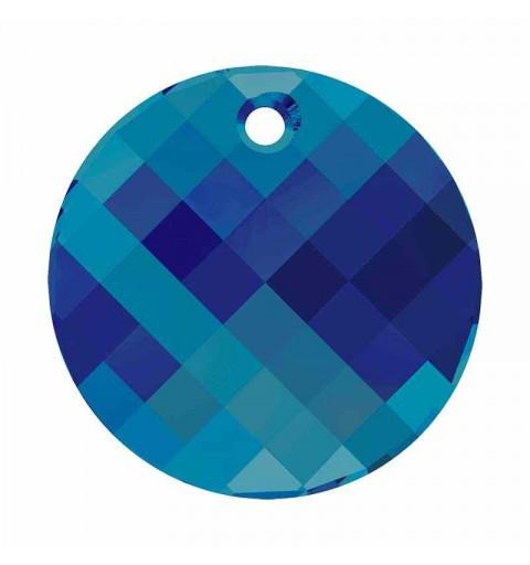 28MM Crystal Bermuda Blue P (001 BB) Twist de Pendentif 6621 SWAROVSKI