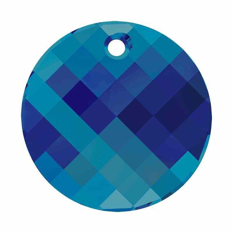 18MM Crystal Bermuda Blue P (001 BB) Twist de Pendentif 6621 SWAROVSKI