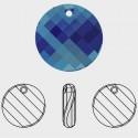 18MM Crystal Vitrail Medium (001 VM) Twist de Pendentif 6621 SWAROVSKI