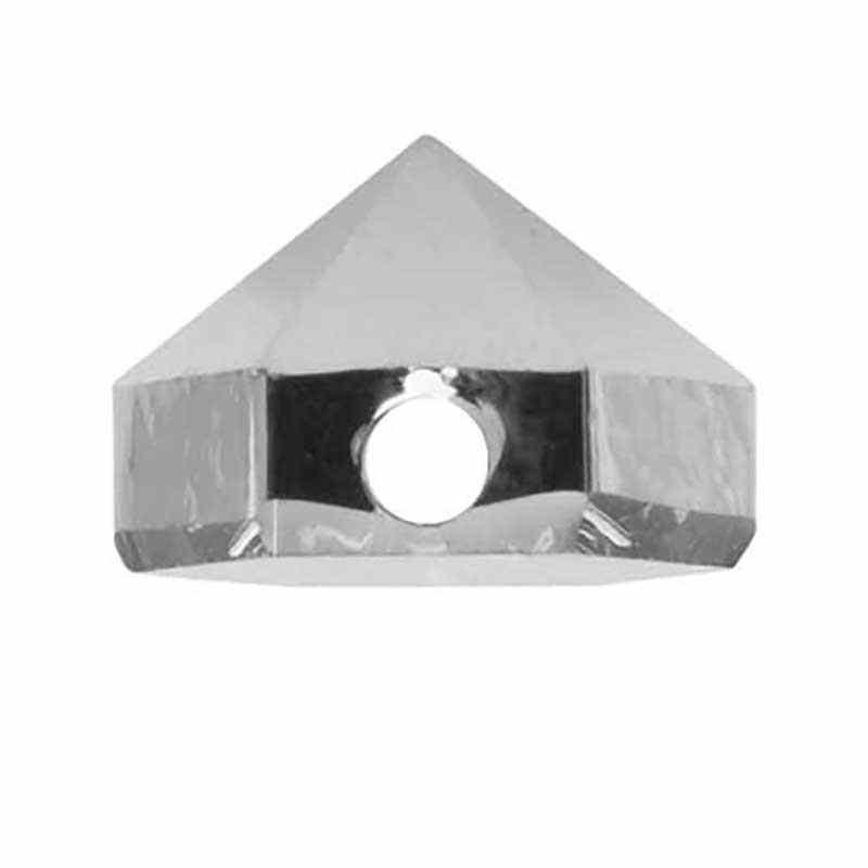 5.5MM Crystal Light Chrome 5060 Spike Perles de Hexagon SWAROVSKI