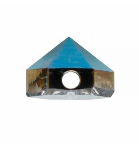 5.5MM Crystal Metallic Blue 5060 Hexagon Spike Helmes SWAROVSKI