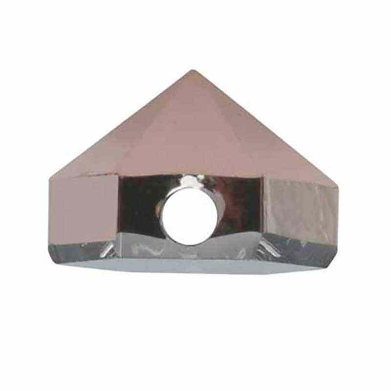 5.5MM Crystal Rose Gold 5060 Hexagon Spike Helmes SWAROVSKI