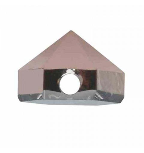 5.5MM Crystal Rose Gold 5060 Hexagon Spike Beads SWAROVSKI