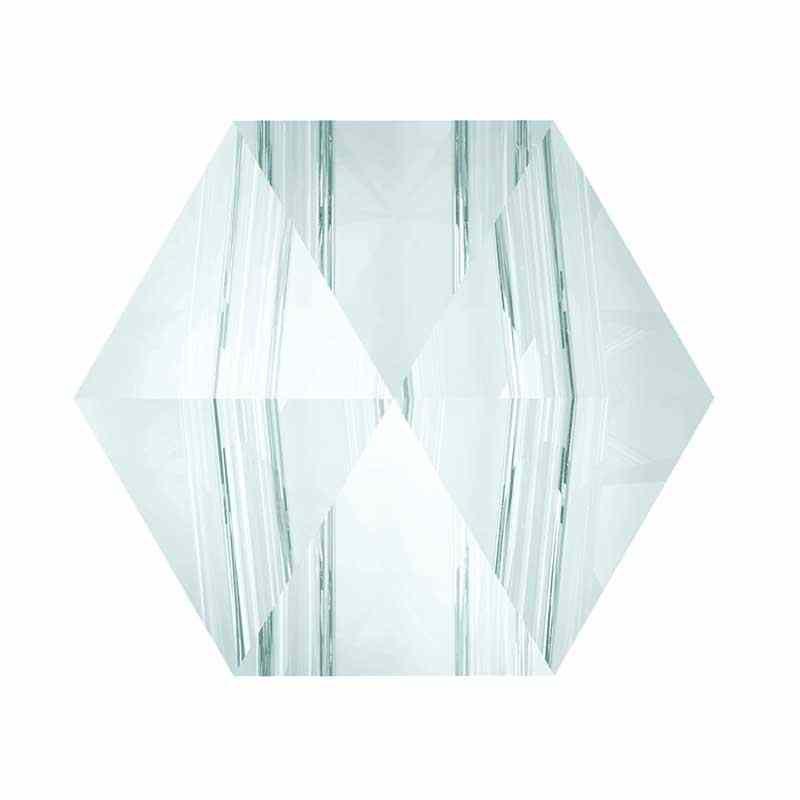 5.5MM Crystal Blue Shade 5060 Hexagon Spike Beads SWAROVSKI