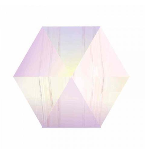 7.5MM Crystal AB (001 AB) 5060 Spike Perles de Hexagon SWAROVSKI