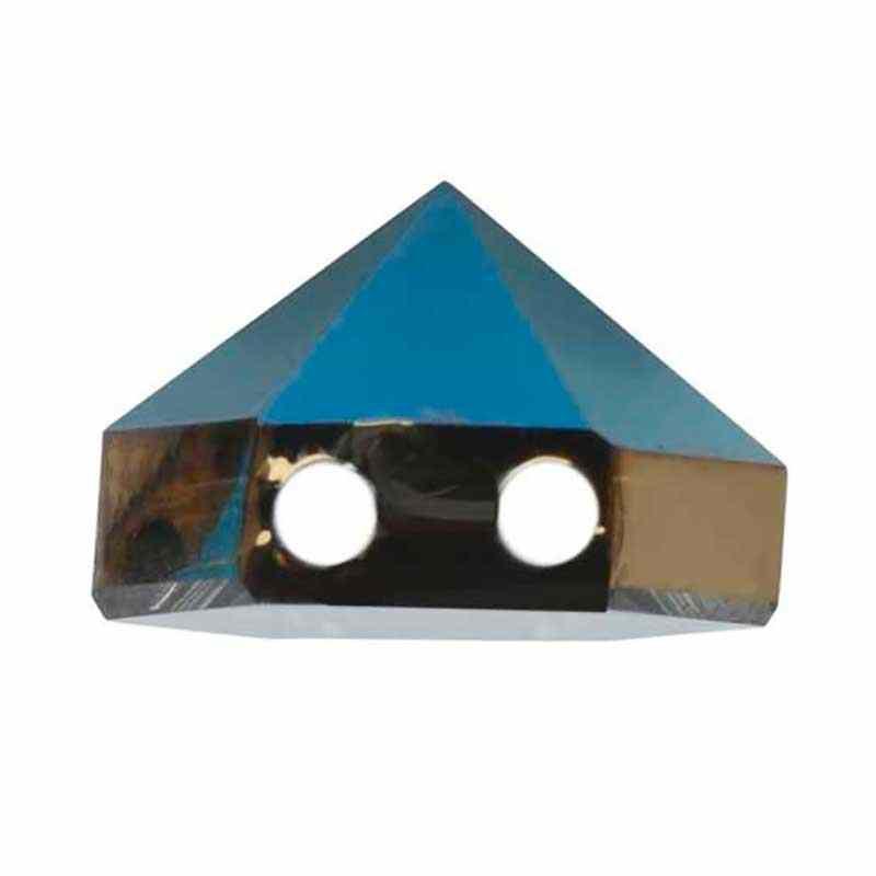 7.5MM Crystal Metallic Blue 5060 Hexagon Spike Helmes SWAROVSKI