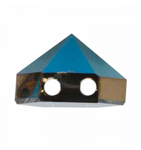 7.5MM Crystal Metallic Blue 5060 Hexagon Spike Beads SWAROVSKI