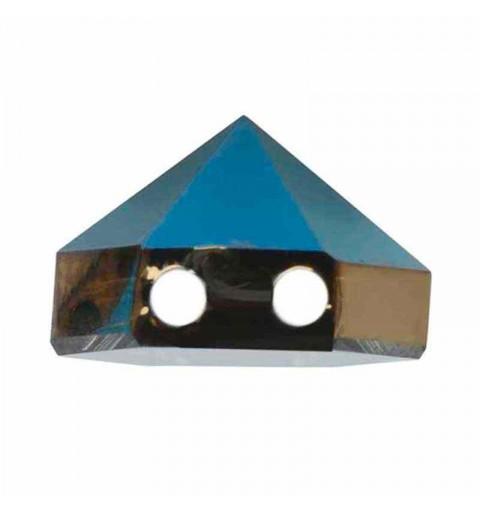 7.5MM Crystal Metallic Blue 5060 Spike Perles de Hexagon SWAROVSKI