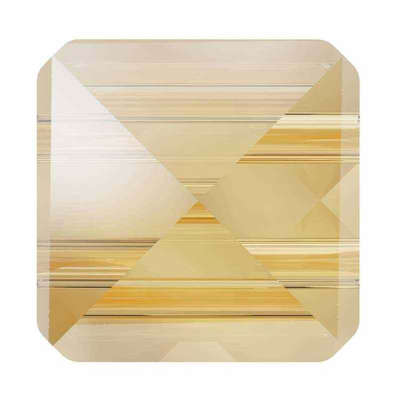 7.5MM Crystal Golden Shadow 5061 Square Spike Helmes SWAROVSKI