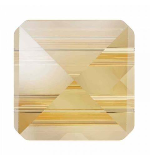 7.5MM Crystal Golden Shadow 5061 Spike Perles de Square SWAROVSKI