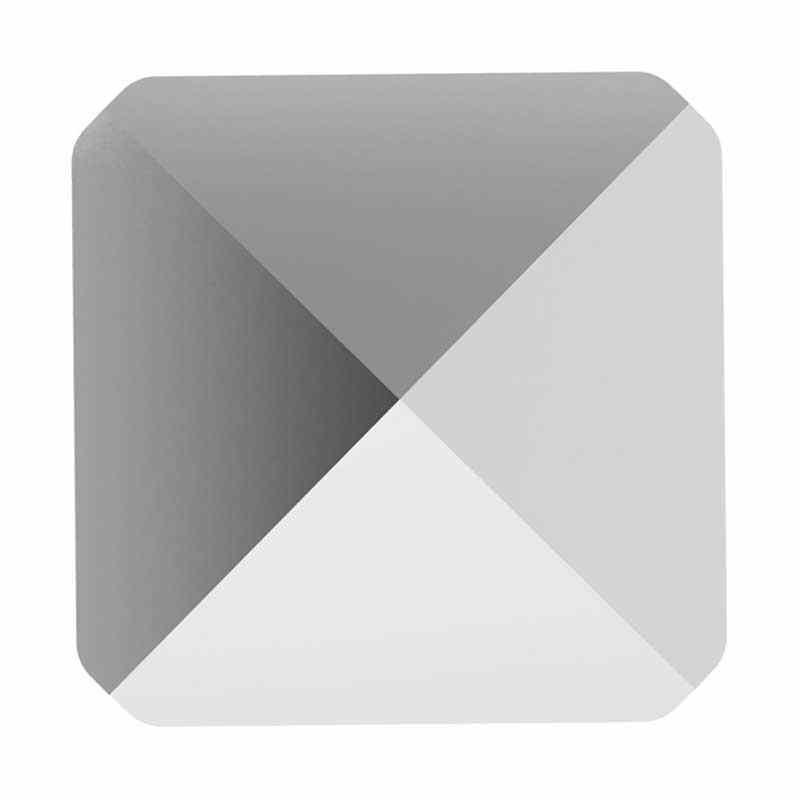 7.5MM Crystal Light Chrome 5061 Square Spike Helmes SWAROVSKI