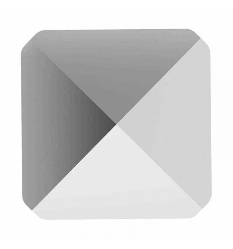 7.5MM Crystal Light Chrome 5061 Spike Perles de Square SWAROVSKI
