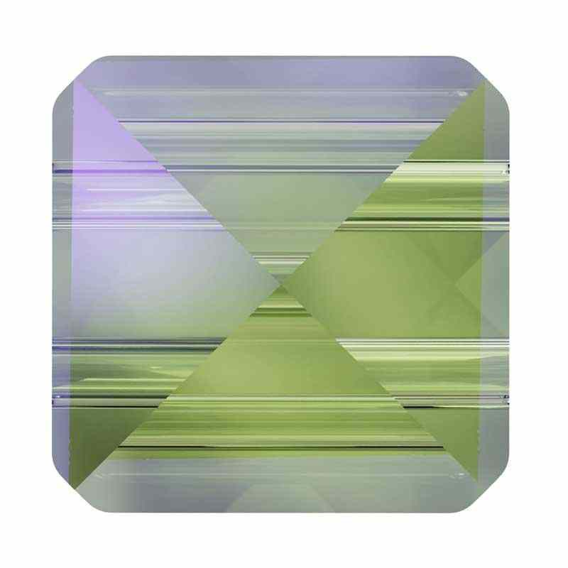 7.5MM Crystal Paradise Shine 5061 Square Spike Beads SWAROVSKI