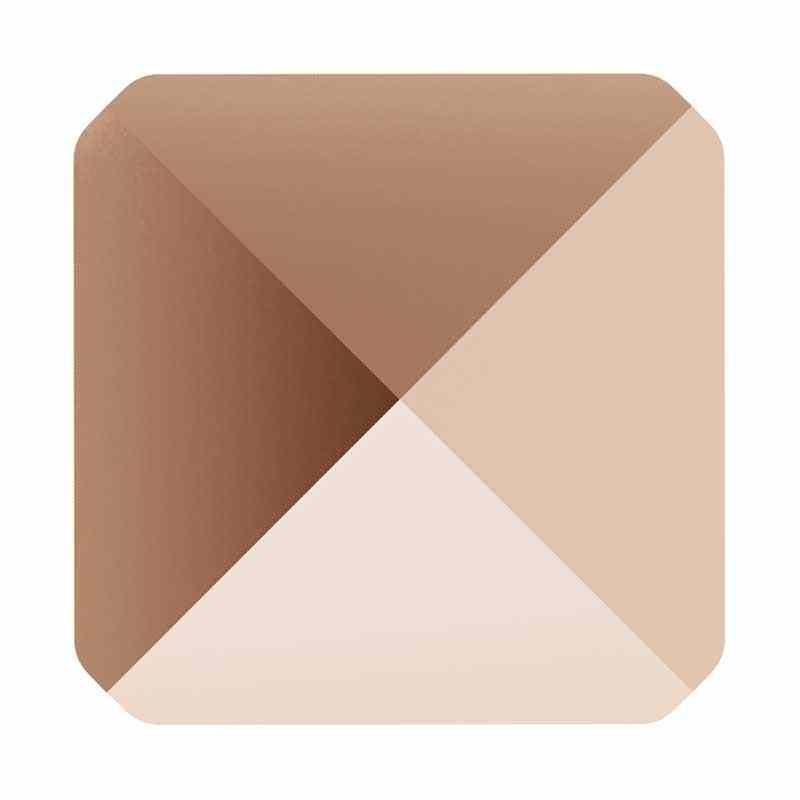 7.5MM Crystal Rose Gold 5061 Square Spike Бусины SWAROVSKI