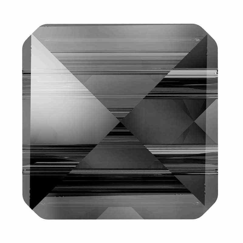 7.5MM Crystal Silver Night 5061 Square Spike Бусины SWAROVSKI